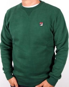 Fila Vintage Brixen Sweatshirt Forest Green