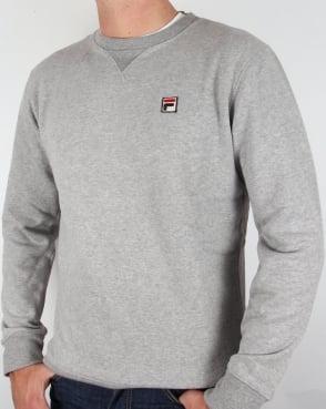 Fila Vintage Brixen Sweatshirt Grey