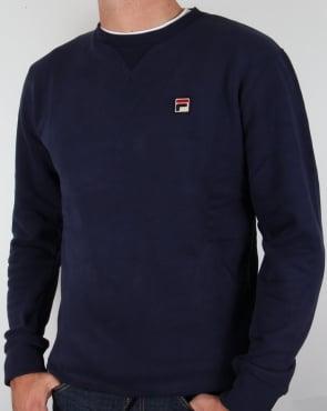 Fila Vintage Brixen Sweatshirt Navy