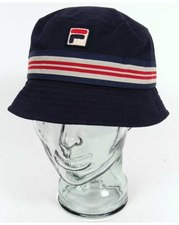 Fila Vintage Bucket Hat Navy