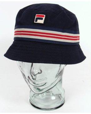Fila Vintage Bucket Hat Navy