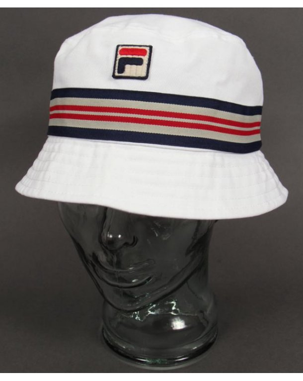 Fila Vintage Bucket Hat White