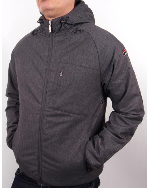 Fila Vintage Buffon Padded Jacket Grey