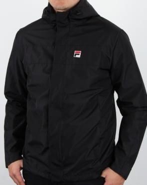 Fila Vintage Cardova Jacket Black