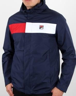 Fila Vintage Cardova Jacket Navy