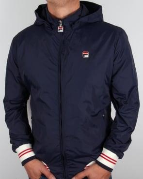 Fila Vintage Cerreto Jacket Navy