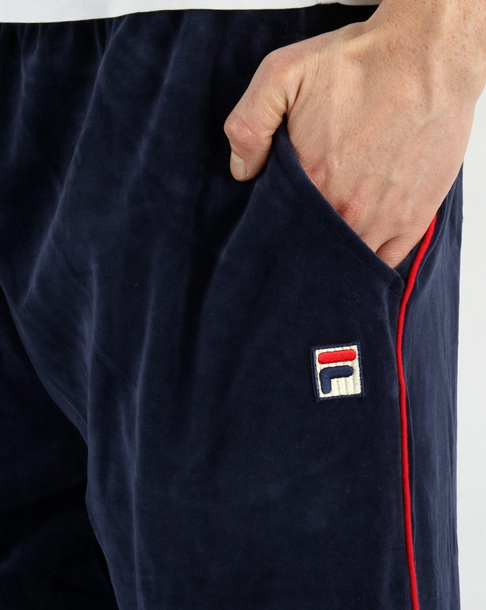 fila velour tracksuit uk
