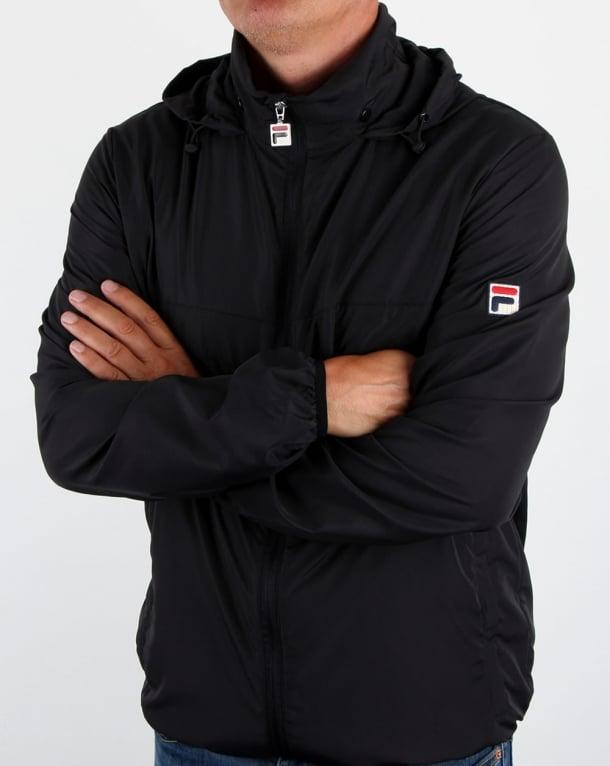 Fila Vintage Cipolla 2 Jacket Black
