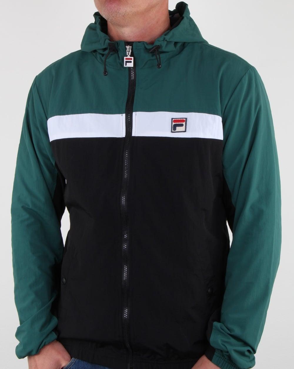 8430d98a6ea7c Fila Vintage Clipper Jacket Black