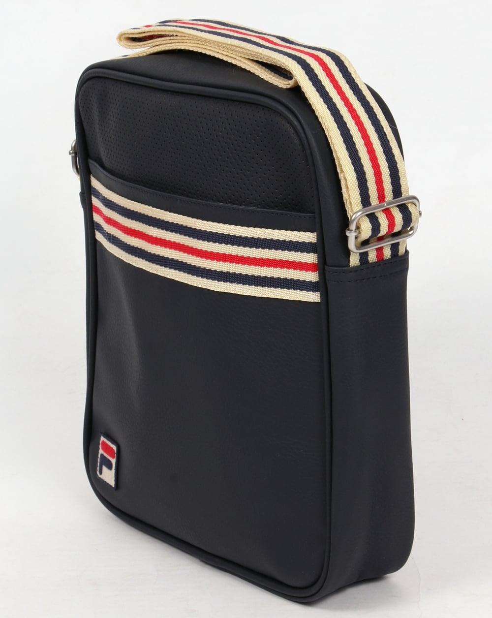 46239da80c Fila Vintage Court Small Shoulder Bag Navy
