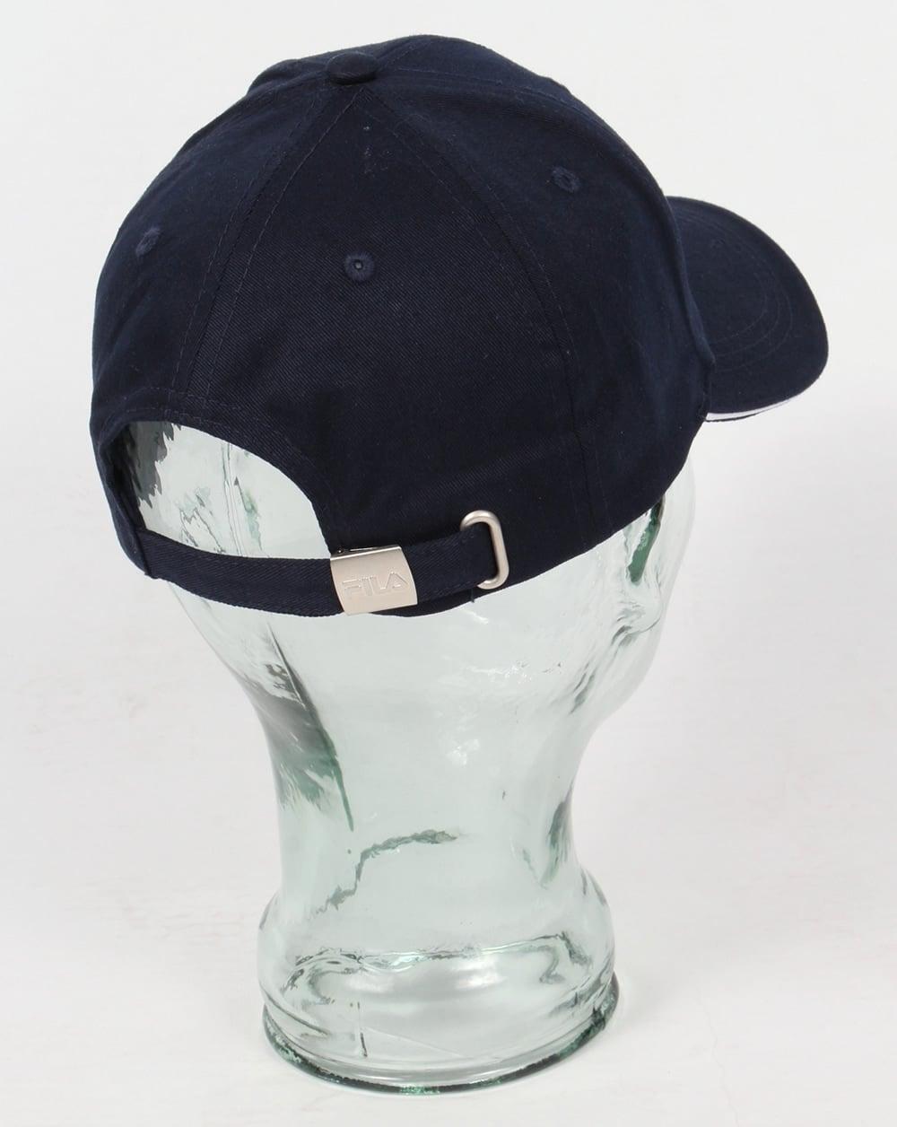 Fila Vintage Deverell Baseball Cap Navy 7a9ba9dc2f1