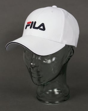 Fila Vintage Deverell Baseball Cap White