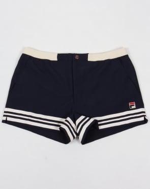 Fila Vintage Docka Shorts Navy