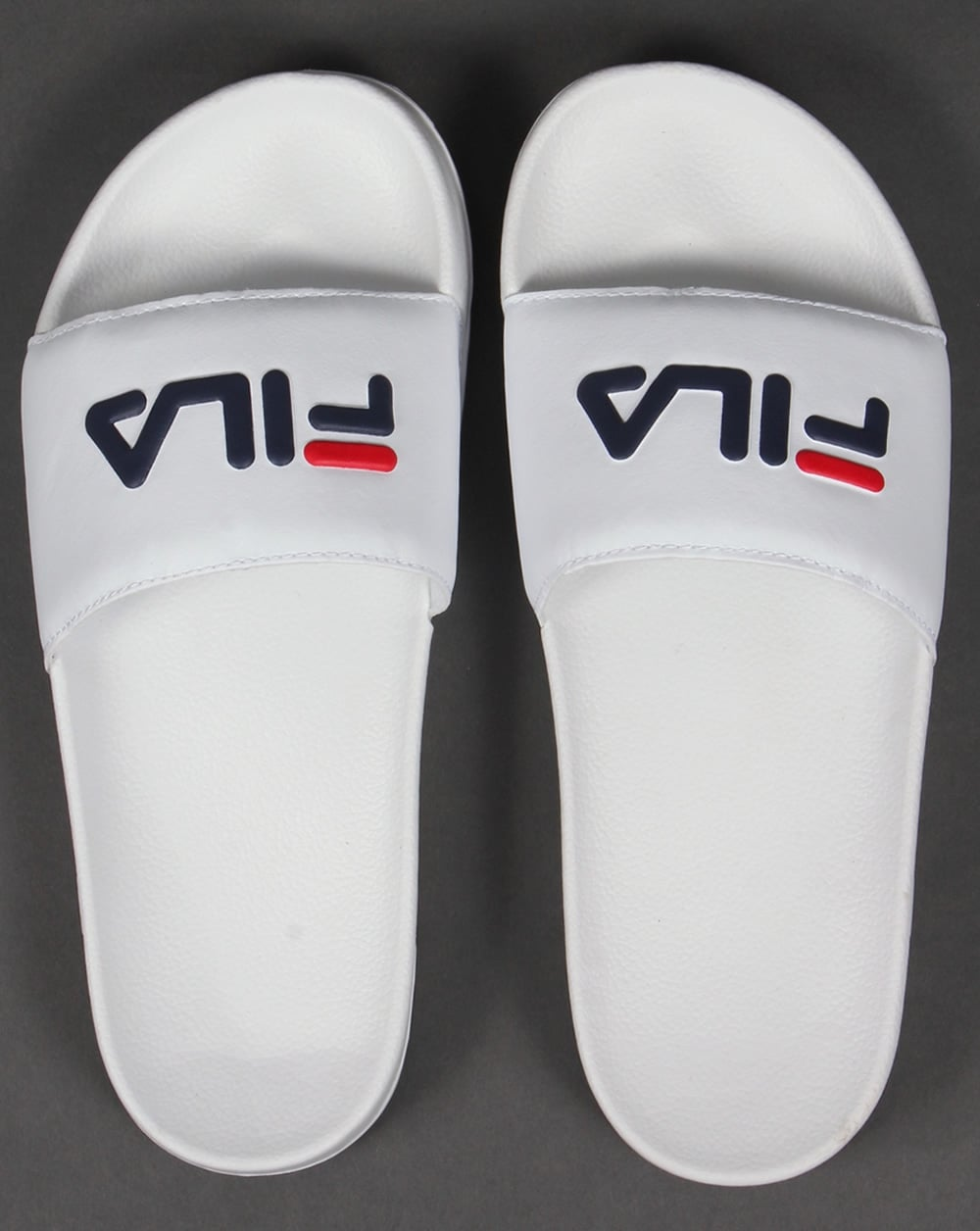 Fila Vintage Drifter Pool Sliders White,sandals,flip flops