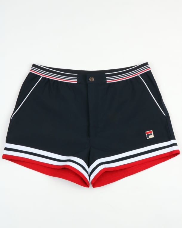 Fila Vintage Dyer Shorts Dark Navy/Red/White