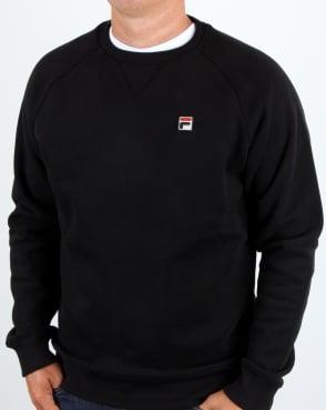 Fila Vintage Filippo Crew Sweat Black