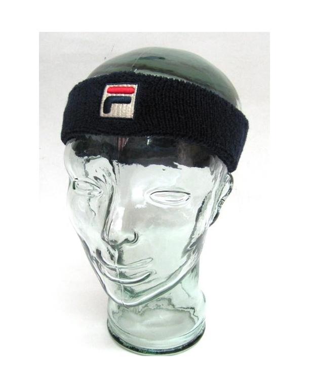 Fila Vintage Flexby Headband Navy