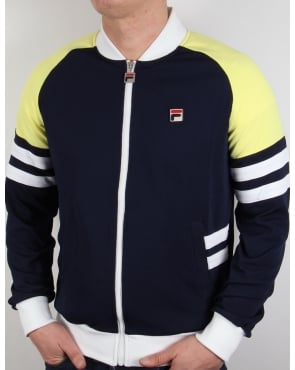 Fila Vintage Founder Track Top Navy/yellow