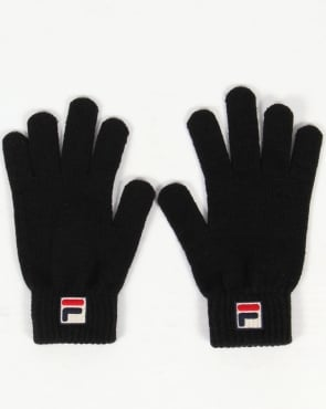 Fila Vintage Geti Gloves Black