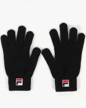 Fila Vintage Geti Gloves Black