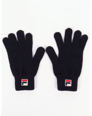 Fila Vintage Geti Gloves Navy