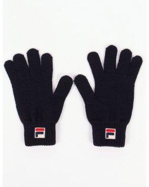 Fila Vintage Geti Gloves Navy