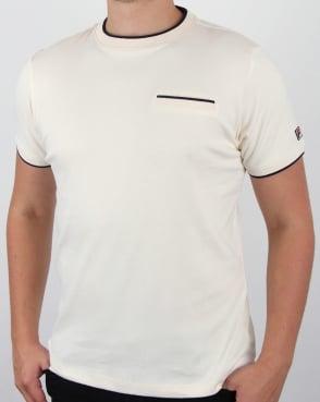 Fila Vintage Gianni T Shirt Gardenia