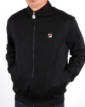 Fila Vintage Grosso Track Top Black