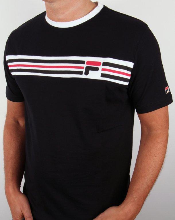 Fila Vintage Headband Stripe T-shirt Black