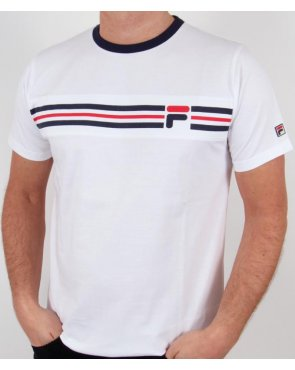 Fila Vintage Headband Stripe T-shirt White