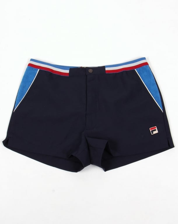 Fila Vintage High Tide 3 Shorts Navy/Ocean/Gardenia