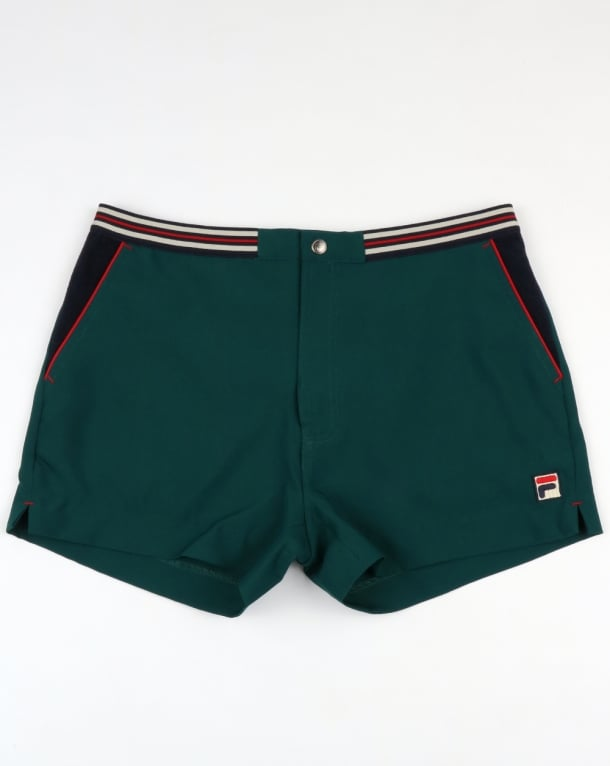 Fila Vintage High Tide 4 Shorts Green/Navy