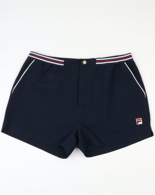 Fila Vintage High Tide 4 Shorts Navy