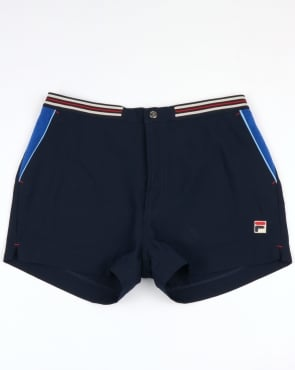 Fila Vintage High Tide 4 Shorts Navy/Royal Blue