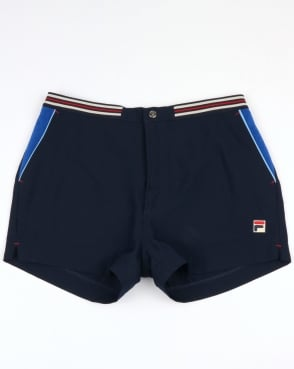 Fila Vintage High Tide 4 Shorts Navy/Royal Blue