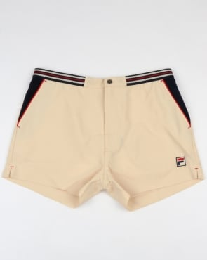 Fila Vintage High Tide 4 Shorts Off White/Navy