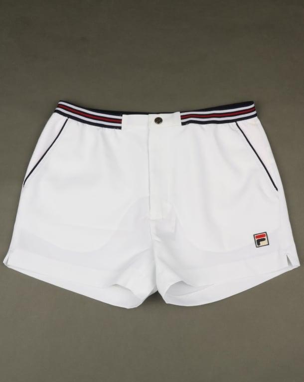 Fila Vintage High Tide 4 Shorts White
