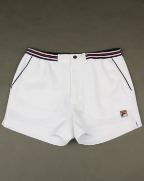 Fila Vintage High Tide 4 Shorts White