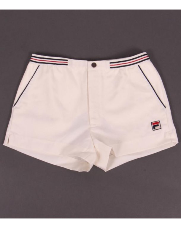 Fila Vintage High Tide Shorts Gardenia