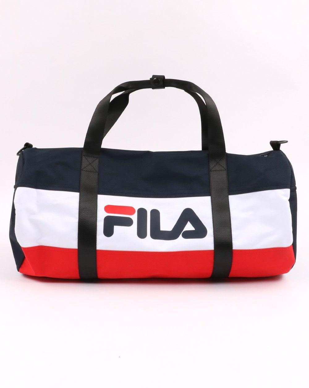 febffeb0c44d72 Fila Vintage Holdall Bag Navy/White/Red | 80s Casual Classics