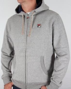 Fila Vintage Hoodie Grey