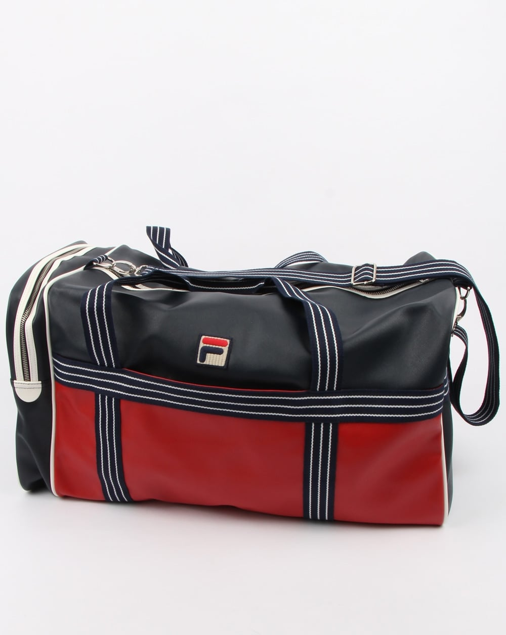 c06fbc3ab9b Fila Vintage Landon Holdall Navy, Mens, Gym, Bag, Holdall, Overnight