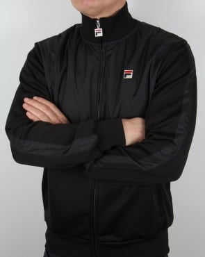 Fila Vintage Latina Track Top Black