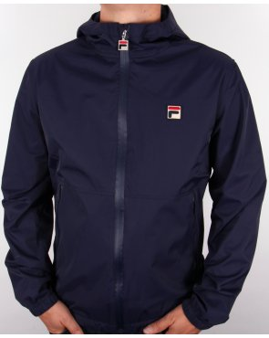 Fila Vintage Lazzer Technical Jacket Navy