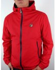 Fila Vintage Lazzer Technical Jacket Red