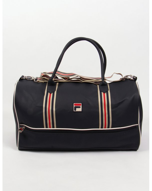 5070caf7d29 Fila Vintage Leo Large Holdall Navy gardenia,bag,shoulder,travel