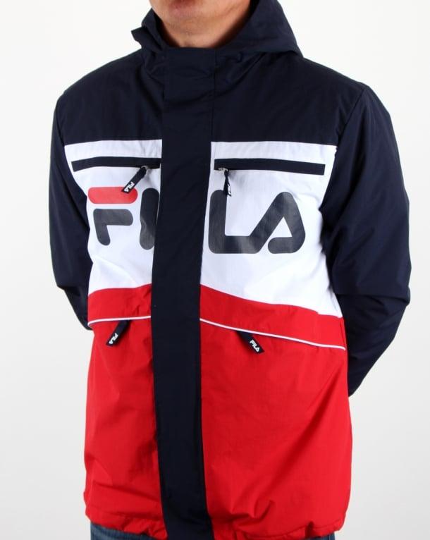 Fila Vintage Linden Jacket Navy