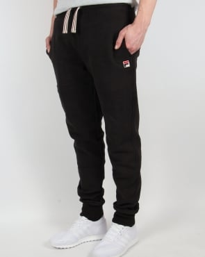Fila Vintage Livata Cuffed Track Pants Black