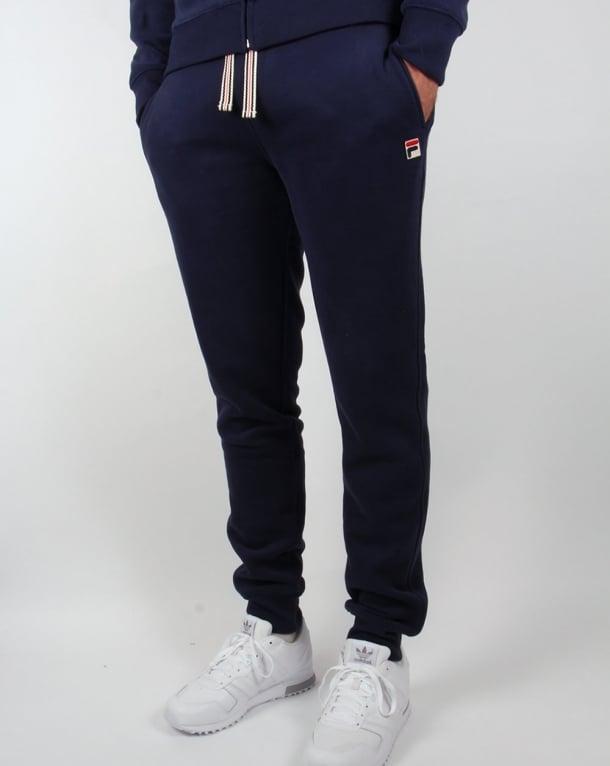 Fila Vintage Livata Cuffed Track Pants Navy