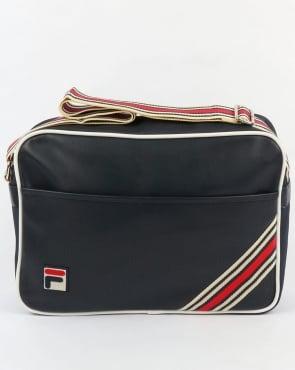 Fila Vintage Lowden Flight Bag Navy
